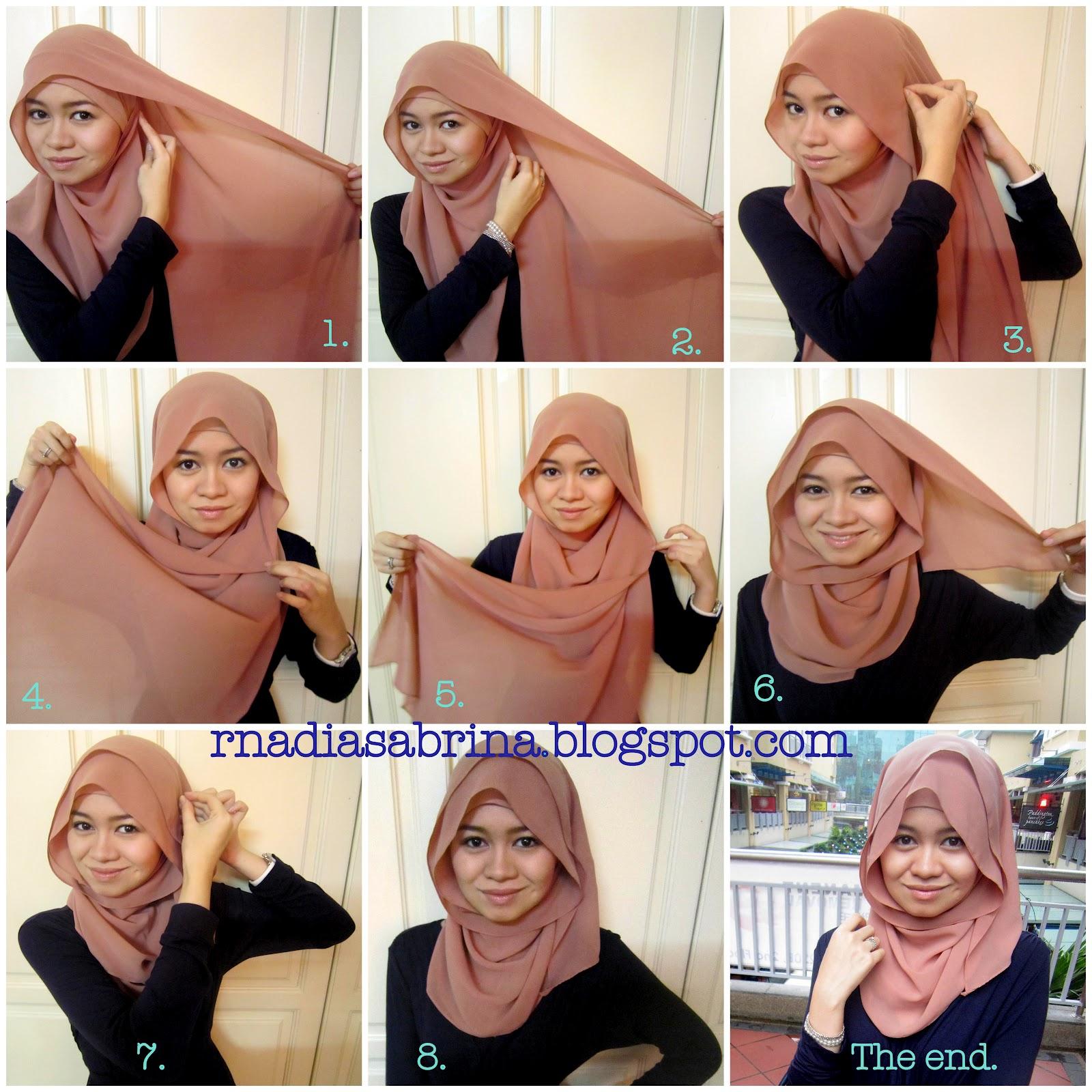 Hijab Tutorial Trinovita09